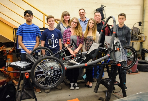Jacob Hespeler Electric Vehicle Challenge - by Darin White
